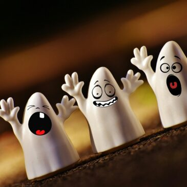 Scary, Scary… Ghosts! Halloween & Grammar