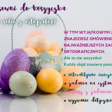 Wielkanocny koszyczek polonistyczny