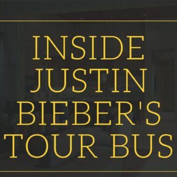 Inside Justin Bieber's Tour Bus